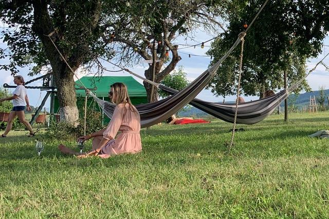 Relaxen op de Weide