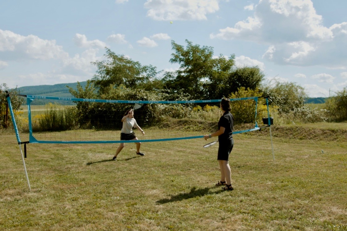 badminton at the great yonder village retreat